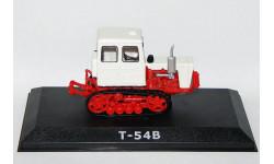 Т-54В, Тракторы 16, красно-белый, масштабная модель трактора, 1:43, 1/43, Тракторы. История, люди, машины. (Hachette collections)