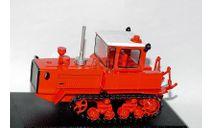 ДТ-175 'Волгарь', Тракторы 24, красный, масштабная модель трактора, Тракторы. История, люди, машины. (Hachette collections), scale43