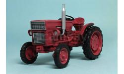 Universal-445V, Тракторы 77, красный, масштабная модель трактора, Тракторы. История, люди, машины. (Hachette collections), scale43