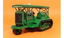 HolT, Тракторы 73, зеленый, масштабная модель трактора, 1:43, 1/43, Тракторы. История, люди, машины. (Hachette collections)