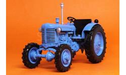 МТЗ-7, Тракторы 74, голубой, масштабная модель трактора, 1:43, 1/43, Тракторы. История, люди, машины. (Hachette collections)