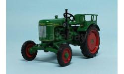 FENDT Dieselross F 15 H6 , Тракторы 81, зеленый, масштабная модель трактора, 1:43, 1/43, Тракторы. История, люди, машины. (Hachette collections)
