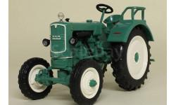 MAN Ackerdiesel A25 A (1956), Тракторы 75, зеленый, масштабная модель трактора, Тракторы. История, люди, машины. (Hachette collections), scale43