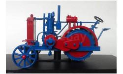Трактор 'Запорожец', Тракторы 69, красный / синий, масштабная модель трактора, Тракторы. История, люди, машины. (Hachette collections), scale43