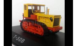 Т-50В, Тракторы 70, оранжевый / желтый, масштабная модель трактора, Тракторы. История, люди, машины. (Hachette collections), scale43