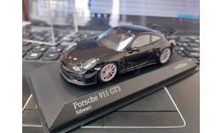 Porsche 911 (991 II) GT3 2017 black 1:43 Minichamps
