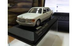 Mercedes 500 se minichamps, масштабная модель, scale43, Mercedes-Benz
