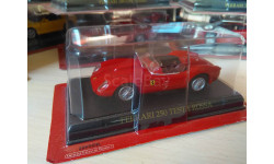 Ferrari 250 Testa Rossa, масштабная модель, Ferrari Collection (Ge Fabbri), 1:43, 1/43