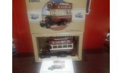 Thornycroft bus, масштабная модель, 1:43, 1/43, Corgi Toys