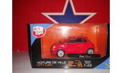 Fiat 500, масштабная модель, 1:43, 1/43, Bauer/Cararama/Hongwell, Audi