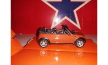 Mini cabrio, масштабная модель, scale43, Bauer/Cararama/Hongwell, Audi