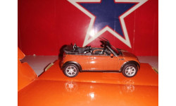 Mini cabrio, масштабная модель, Bauer/Cararama/Hongwell, Audi, scale43
