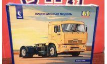 КамАЗ 5460, сборная модель автомобиля, scale43, AVD Models
