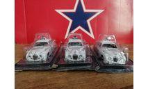 Jaguar MK II*4шт, журнальная серия Полицейские машины мира (DeAgostini), PCT, scale43