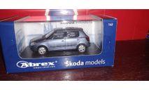 Skoda Fabia, масштабная модель, Abrex, Škoda, scale43