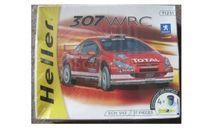 Peugeot 307 WRC, сборная модель автомобиля, scale43, Heller