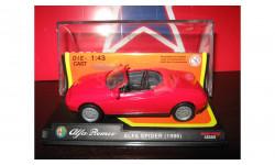 Alfa Romeo Spider, масштабная модель, 1:43, 1/43, Del Prado