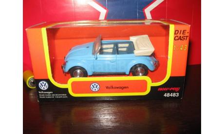 VW Kafer, масштабная модель, 1:43, 1/43, New Ray old, Volkswagen