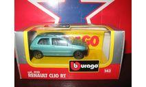 Renault Clio RT, масштабная модель, 1:43, 1/43, Bburago old