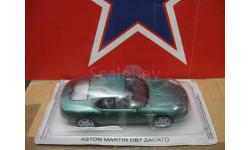 Aston Martin DB7, журнальная серия масштабных моделей, scale43, PCT