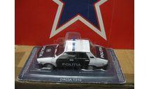 Dacia 1310, журнальная серия Полицейские машины мира (DeAgostini), scale43, PCT