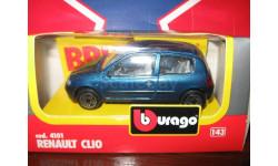 Renault Clio 1, масштабная модель, 1:43, 1/43, Bburago old