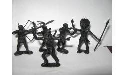 Индейцы, фигурка, scale35, ОГОНЕК