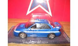 Subaru Impresa, журнальная серия Полицейские машины мира (DeAgostini), 1:43, 1/43, PCT