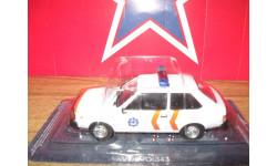 VOLVO 343, журнальная серия Полицейские машины мира (DeAgostini), 1:43, 1/43, PCT