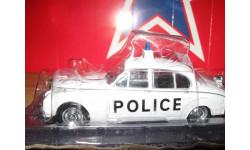 Jaguar MK II, журнальная серия Полицейские машины мира (DeAgostini), 1:43, 1/43, PCT