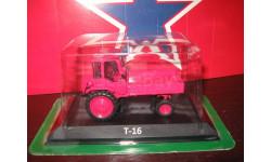 Т 16, масштабная модель трактора, 1:43, 1/43, hachette