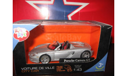 Porsche carrera GT, масштабная модель, scale43, cararama