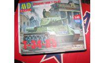 Танк Т 34-85, сборные модели бронетехники, танков, бтт, scale43