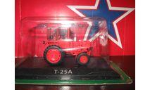 Т 25А, масштабная модель трактора, scale43, hachette