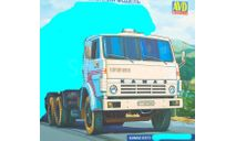 шасси КамАЗ 53212, сборная модель автомобиля, scale43, AVD Models