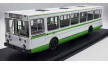 Лиаз-5256 бело-зелёный SSM4022 (SSM) редкий, вып 2015г, масштабная модель, Start Scale Models (SSM), 1:43, 1/43