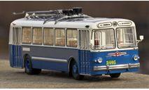 ЗиУ 5 бело-синий, масштабная модель, Classicbus, 1:43, 1/43