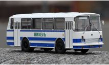 ЛАЗ 695Н бело-голубой, масштабная модель, Classicbus, 1:43, 1/43