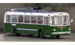 ЗиУ 5 бело-зелёный, масштабная модель, Classicbus, 1:43, 1/43