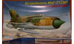 МИГ-21 СМТ, сборные модели авиации, Восточный Экспресс, scale72
