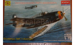 TBF-1 'Эвенжер', сборные модели авиации, Моделист, 1:72, 1/72