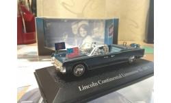 Lincoln Continental Limousine SS-100-X Кеннеди, масштабная модель, Atlas, scale43