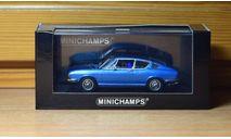 Audi 100 Coupe S 1969, масштабная модель, Minichamps, scale43