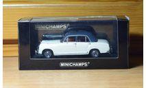 Mercedes-Benz 220 S 1956, масштабная модель, Minichamps, 1:43, 1/43
