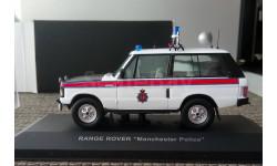 1:43 Range Rover Manchester Police IXO HCS-CC004, масштабная модель, 1/43