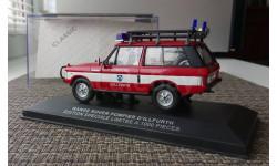 1:43 Range Rover Pompier D'Illfurth (Cofradis IXO) COF100, масштабная модель, 1/43