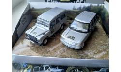 1:43 Range Rover L322 & Land Rover 110 Experience (set LR1002), масштабная модель, Corgi Vanguards, 1/43