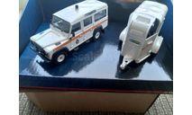 1:43 Land Rover Defender 110 + Horsebox VA09710 (Corgi), масштабная модель, scale43