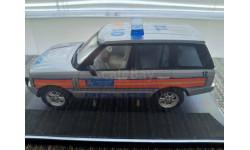 1:43 Range Rover L322 Metropolian Police Special Escort VA09611 Corgi - Vanguards