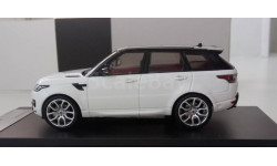 1:43 Range Rover Sport 2014 White (Premium X) PRD360